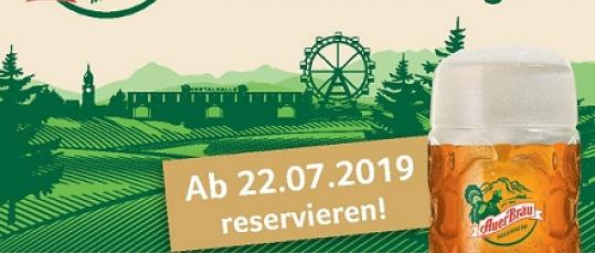 Reservierungen sind ab 22. Juli 2019 möglich